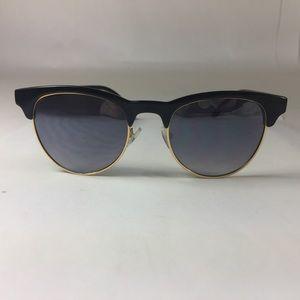 Black Gold Rim Sunglasses
